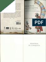 Memorias de conquista. De conquistadores indígenas a mexicanos en la Guatemala colonial - Matthew.pdf