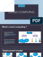 Cloud computing in BFSI
