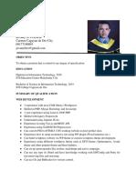 Jovany Ferrariz Resume