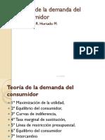 Clase 5 Teoría de La Demanda Del Consumidor