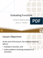 2 Evaluating Functions