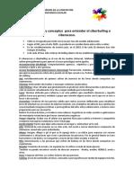 Algunos Datos y Conceptos Para Entender El Ciberbulling o Ciberacoso
