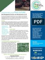 Agricultural BMP Handout