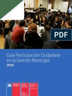 Guía de participación ciudadana en la gestión municipal