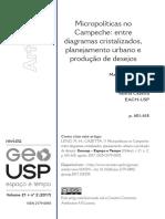 Micropoliticas No Campeche Entre Diagramas Cristal