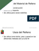 Tecnicas Relleno Pasta Hidrahulico Minas Peru