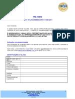 Pré-teste 14001_2015