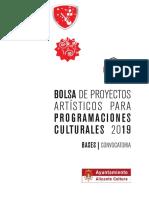 bolsa programacion cultural