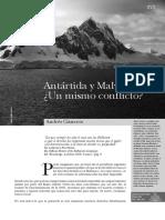 la Antártida-  Cisneros