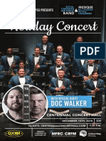 UnitedWay RCAF HolidayConcert Poster