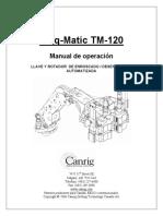 IRON TM120 Spanish Manual