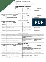 Programa General Clausura Año Mariano