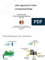 Sustainability Requirements of Urban Environmental System