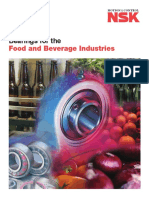 Bearings for the Food and Beverage Industries