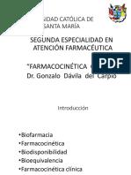 2019 Farmacocinética Clínica 2da Especialidad