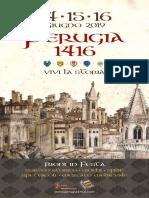 Perugia 1416 Edizione 2019 Programma