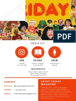 FRIDAY Magazine Press Kit June 2019