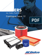Filters Cabin Air Oil Fuel Catalog