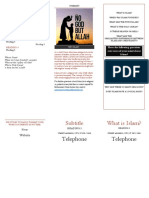 Islam Leaflet Project