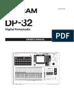 Tascam DP 32 Manual