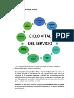 Proceso Del Ciclo Vital Del Servicio