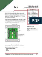 Modulo de Control de Nac Instalacion-4090-9007