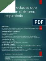 Enfermedades Que Afectan El Sistema Respiratorio