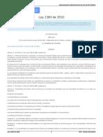 Ley 1429 de 2010 Formalización y Generación de Empleo - Rit