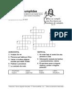 Promises Fulfilled Esp Crossword