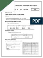 11 Reporte Coeficiente de Dilatacion