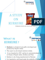 A Study on Kurkure 123