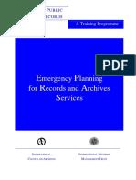 IRMT Emergency Plan