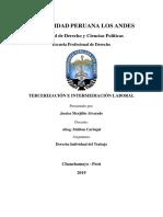 Monografuia intermediacion laboral