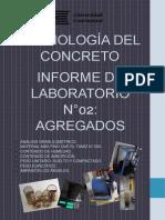 informe de tecnología del concreto