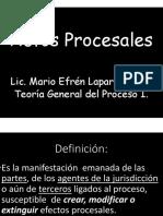 Actos Procesales (1)