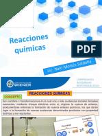 SEMANA 11 y 12 Reacciones Quimicas 1