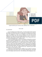 cover letter- rough draft -1