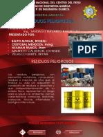 GRUPO N°5-RESIDUOS PELIGROSOS