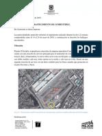 Informe Seguimiento de Abastecimiento de Combustible