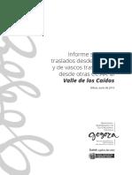Informe Valle de Los Caidos 2019