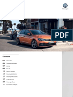 VW Polo Model Brochure MY19