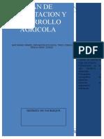 Plan de Capacitacion y Desarrollo Agricola
