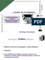 F - Aula 05Mai - Recolha de Dados e Análise Estatística