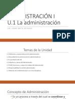 Diapositivas Admon I