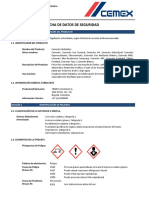 FDS Cemento Cemex Colombia