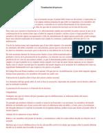 Trabajo Procesal Penal Terminación Del Proceso