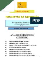 4 S. Ing. Proyecto - Analisis de Procesos