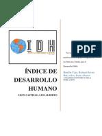 1. El IDH