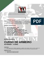 Centro Magnum - Curso de Armeiro
