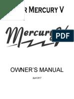 Mercury V manual